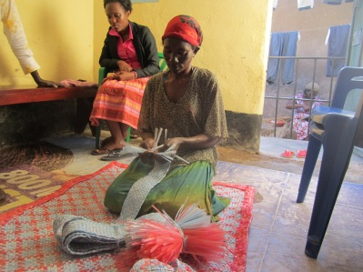 Livelihoods mat making